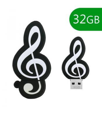 PEN DRIVE 32GB MUSICA